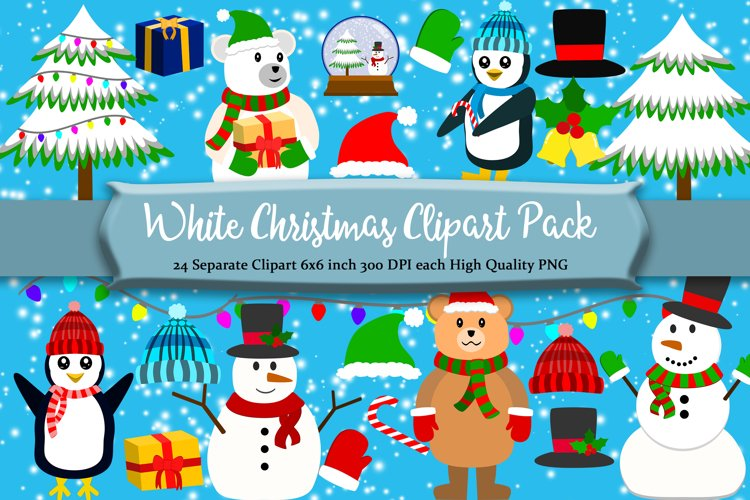 Christmas Winter Clipart Pack