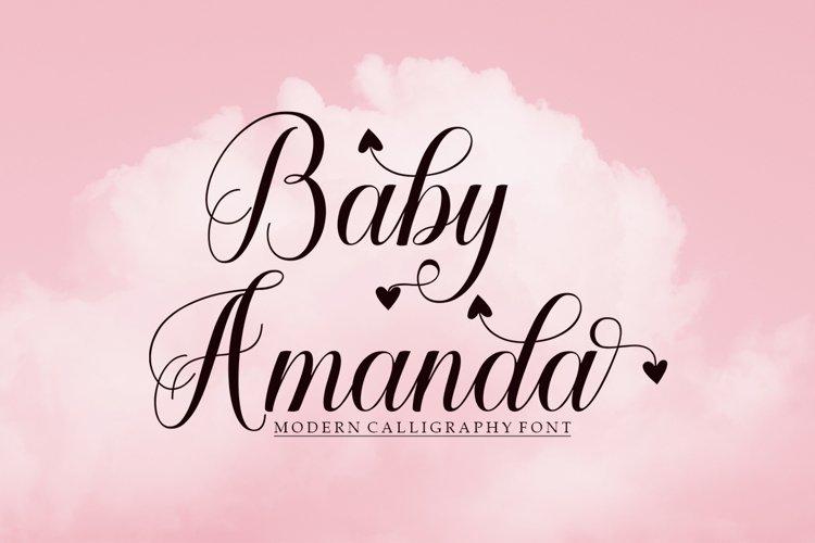 Baby Amanda example image 1