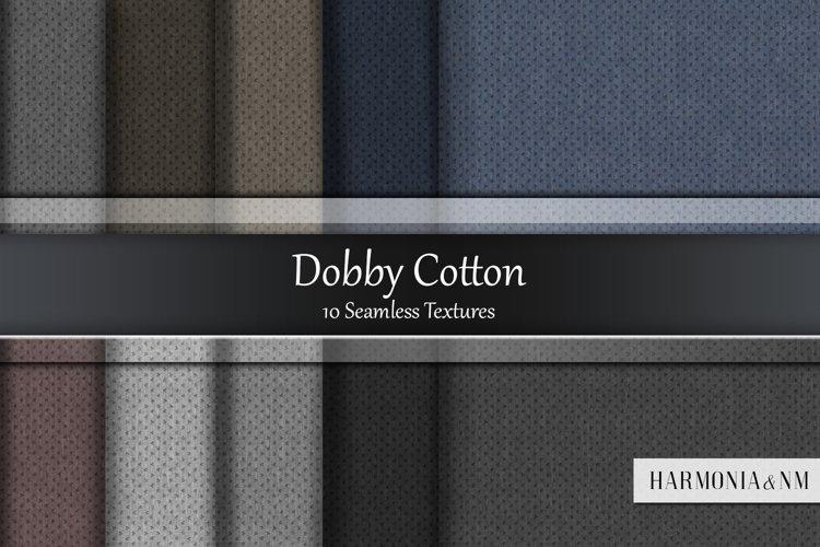 Dobby Cotton 10 Seamless Textures example image 1