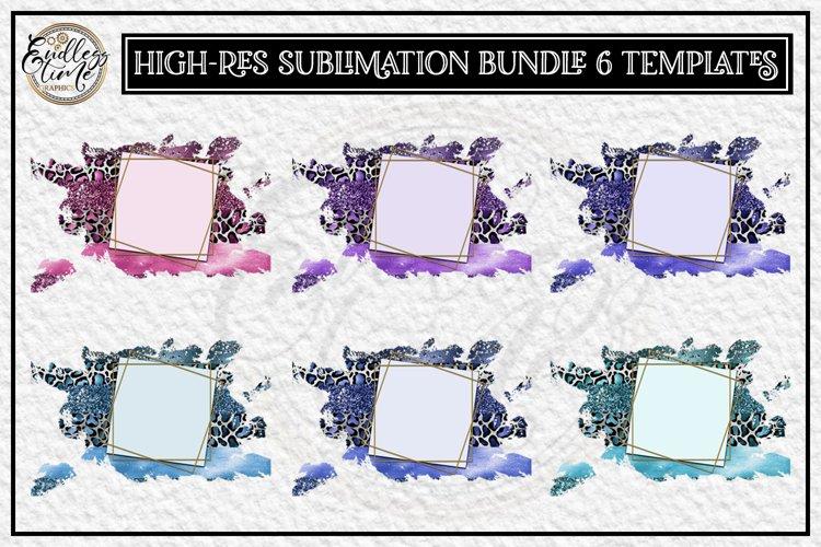 Leopard Sublimation Bundle | 6 Color Sublimation Backgrounds