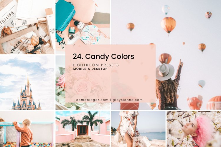 24. Candy Colors Presets example image 1