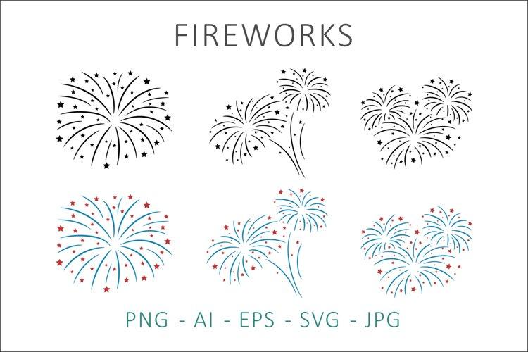 Fireworks SVG Clipart