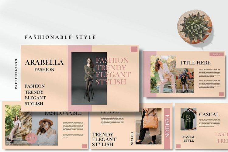 Arabella Fashionable Style - Powerpoint Template