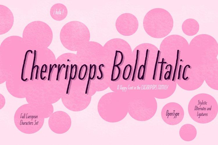 Cherripops Bold Italic