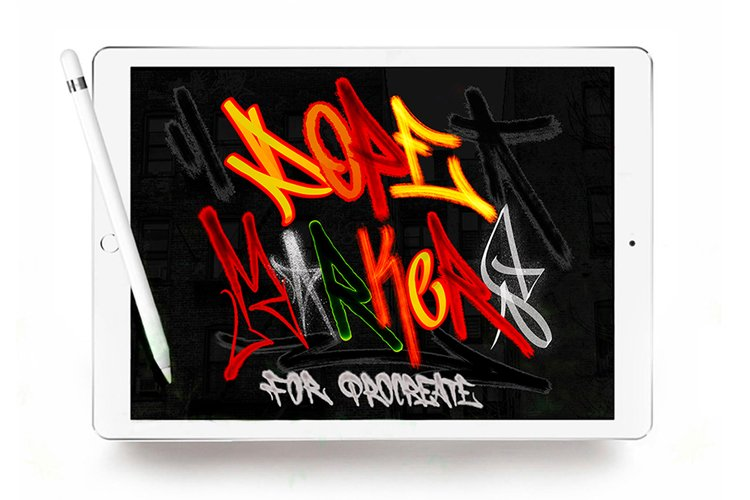 DOPE MARKERS FOR PROCREATE example image 1