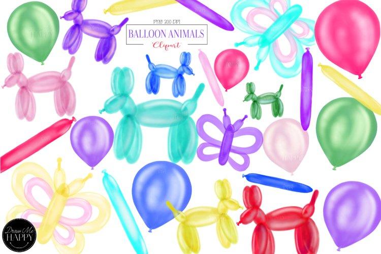 Balloon Animals Clipart, Balloon Animals, Balloon Dog