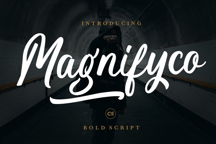 Magnifyco Bold Script example image 1