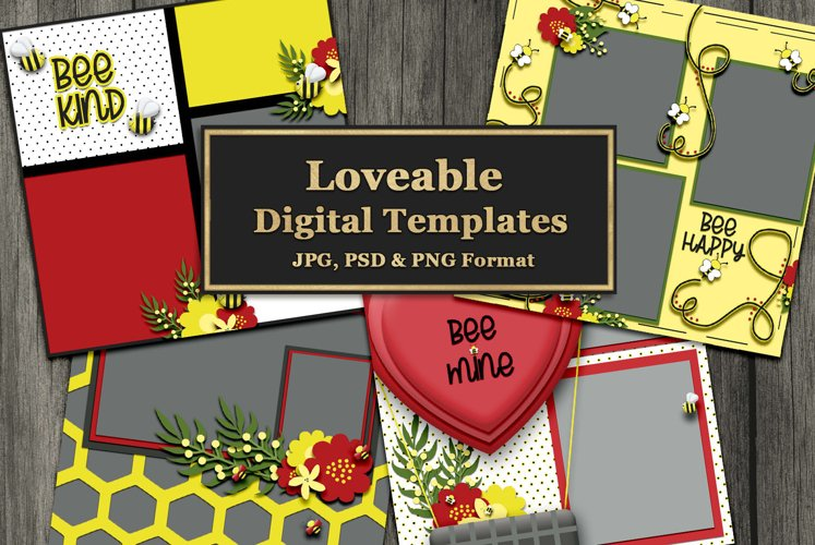 Bee Loveable Templates