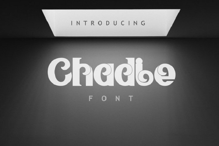 Chadie Font example image 1