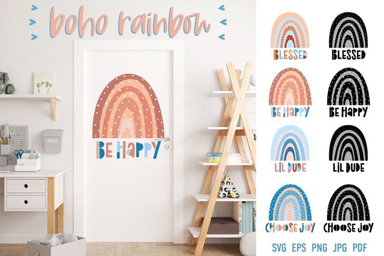 Baby Rainbow SVG | Boho Rainbow