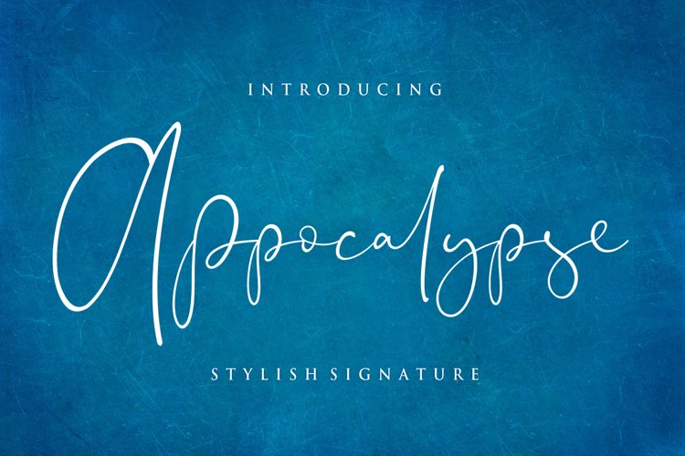Appocalypse Signature example image 1