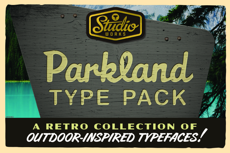 Parkland Type Pack | Retro Outdoors!