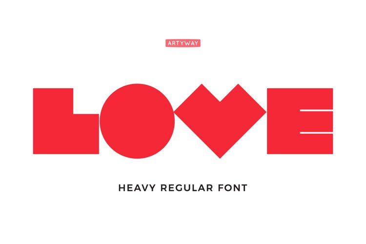 Robot Love Font example image 1