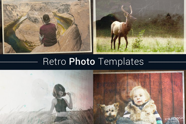 Retro Photo Template example image 1