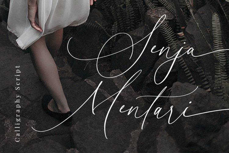 Senja Mentari - Modern Script example image 1