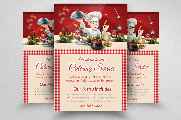 Event Catering Services Flyer example image 1