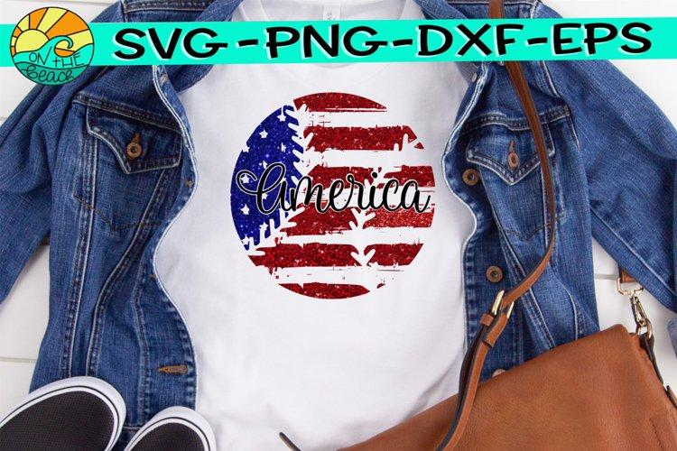 Baseball - Flag - Grunge - Distressed - SVG - DXF - EPS -PNG