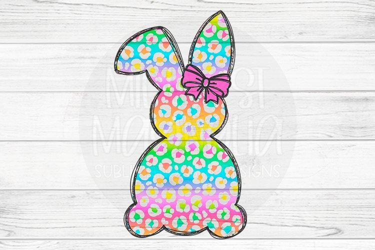 Rainbow Leopard Bunny example image 1