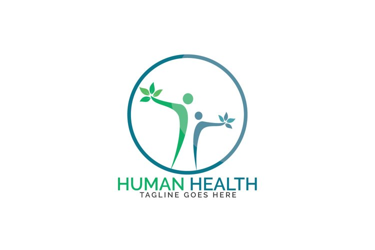 Human Health Logo Design. example image 1