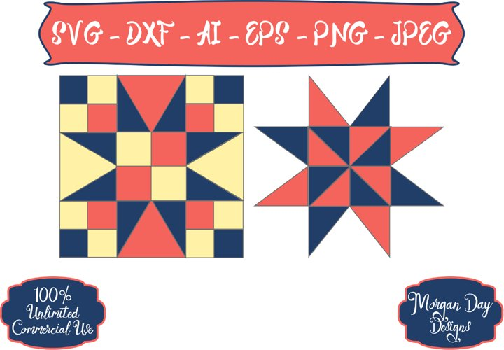 Barn Quilt SVG example image 1