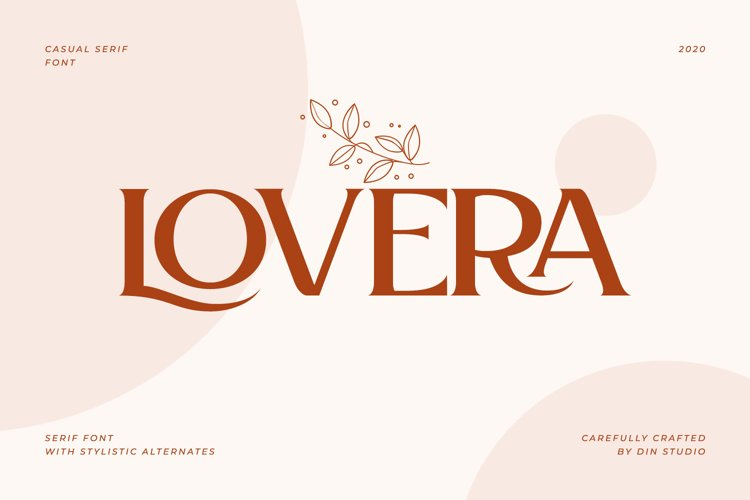 Lovera-Elegant Serif Font example image 1
