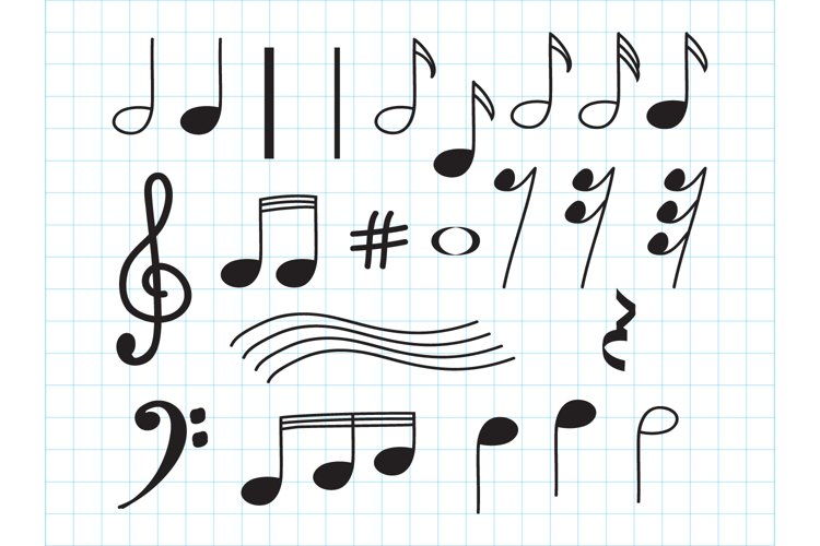 design elements of musical notes