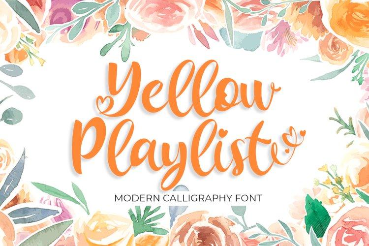 Yellow Playlist example image 1
