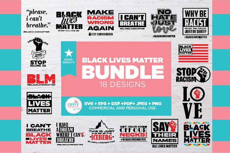 Bundle Black Lives Matter, for Cutting Machine or Transfer example image 1