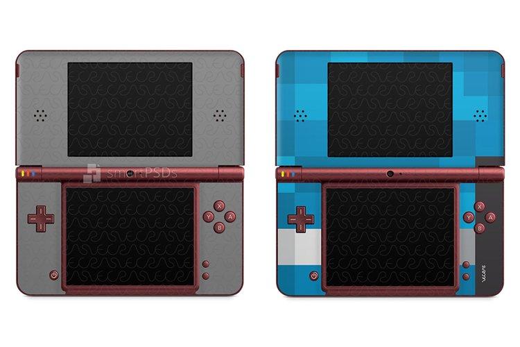 Nintendo DSI XL Skin Decal Design Template 2009 example image 1