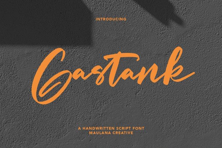 Gastank Script Font example image 1