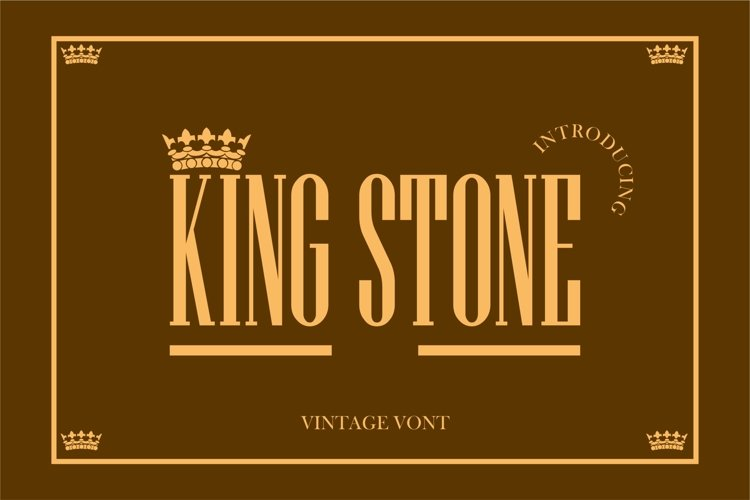 KING STONE example image 1