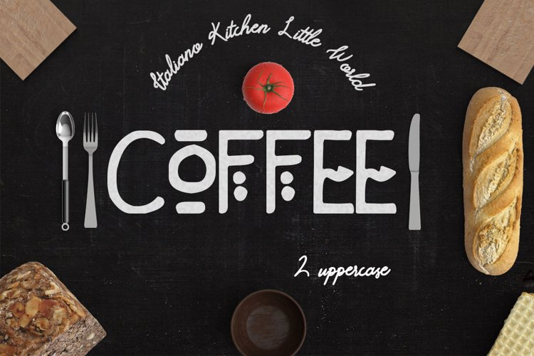 Coffee 2 Fonts example image 1