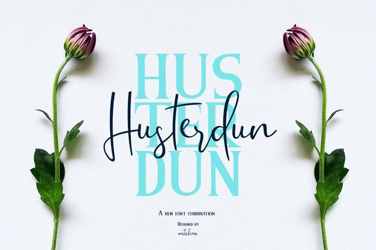 Husterdun Font Duo example image 1