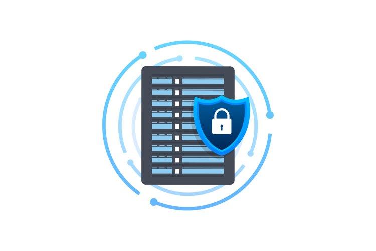 Data protection data center. Internet technology. Informatio example image 1
