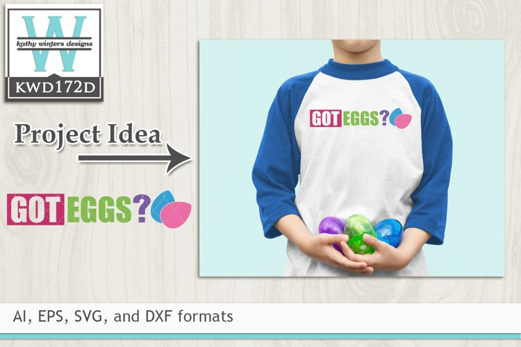 Easter SVG - Got Eggs example image 1