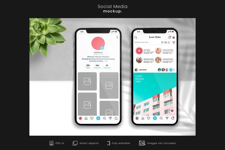 Social Media Branding Mockup for Instagram/App mockups 2