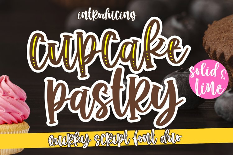 Cupcake Pastry -Duo Quirky- example image 1