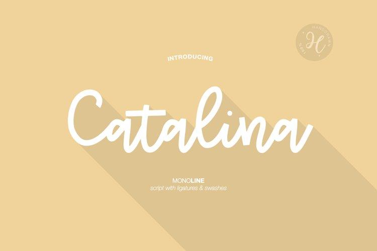 CATALINA MONOLINE example image 1