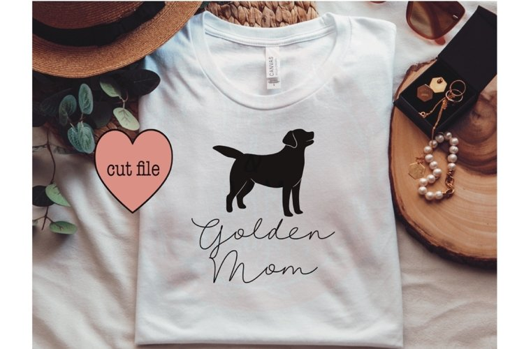 Golden mom SVG, Golden Retriever SVG, dog SVG, dog mom shirt