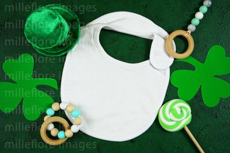 St Patricks Day Baby Bib Bodysuit SVG Craft Mockup Photo