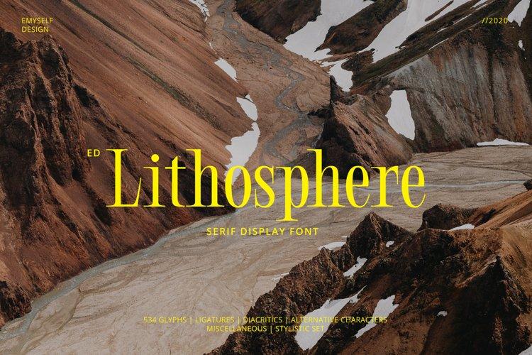 ED Lithosphere example image 1