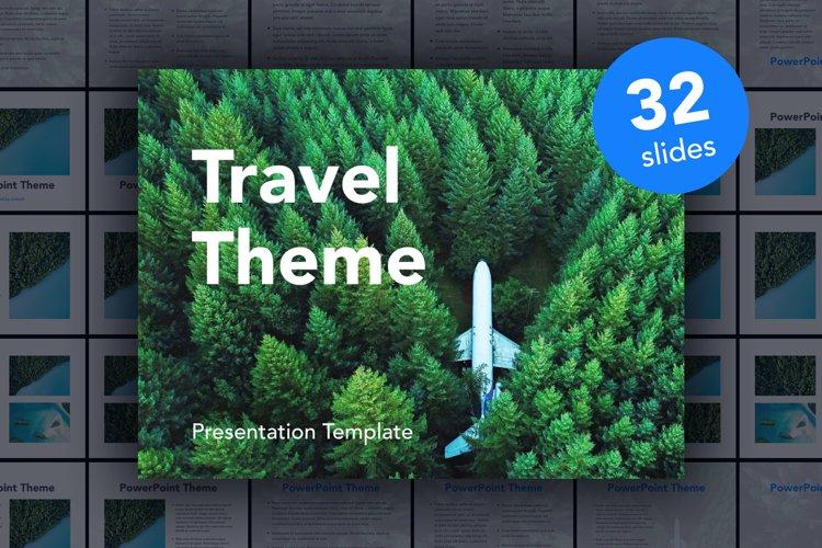 Avid Traveler PowerPoint Template