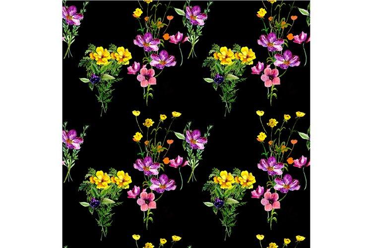 Pattern spring flowers