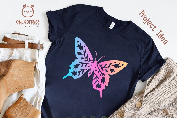 Butterfly SVG, butterfly PNG, butterfly silhouette example 3