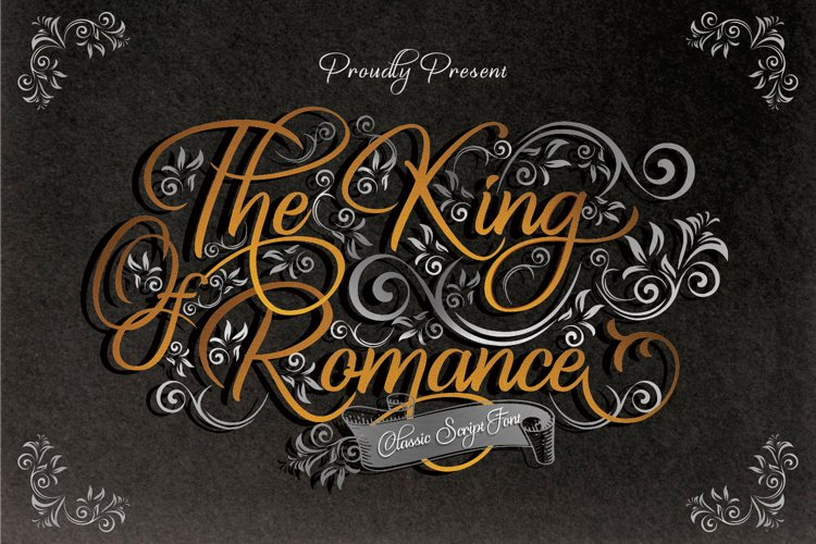 The King Of Romance example image 1