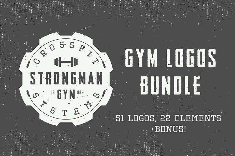 Vintage Gym Emblems Bundle