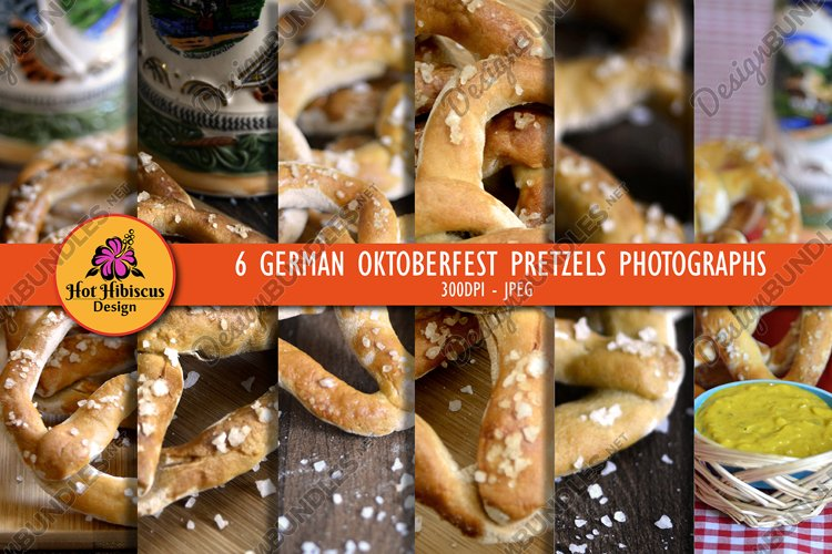 German Oktoberfest Beer Festival Pretzels and Beer