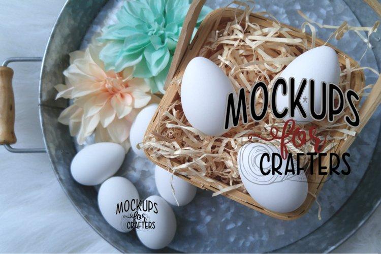 Easter Eggs - White - Dollarama - MOCK-UP example image 1