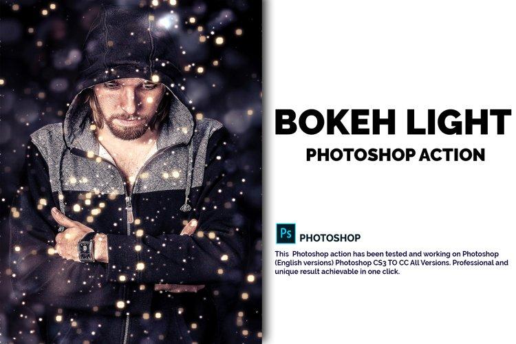 Bokeh Light Photoshop Action example image 1