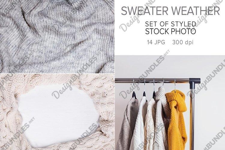 Sweater weather photo set example image 1